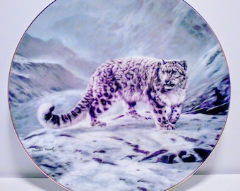 "Vintage Collector Plate ""Fleeting Encounter"""