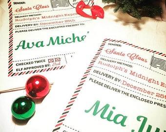 Santa Sacks, Santa Sack, Santa Gift Bags, Santa Bags, Personalized Santa Sack, Christmas Sacks, Gift Sacks, Personalized Gift Sack