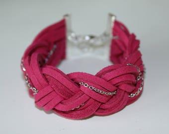 White Bracelet (Pink)