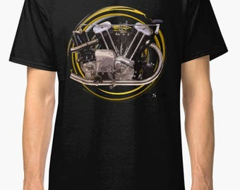 Brough Superior SS100,1932,1000cc inspired classic Motorcycle TShirt INISHED