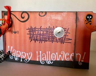 Halloween Memories Book