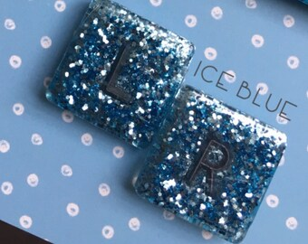 Glitter X-Ray Markers (One Pair). SQUARE