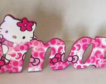 letras en mdf letras personalizadas letras decorativas letter wood letras decoradas - Letras Decorativas