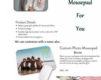 Melissa Benoist #173 Mousepad