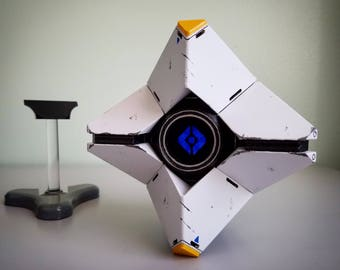 High Quality Destiny Ghost Replica - like Generalist Shell - WITH Floating Stand - Hangable