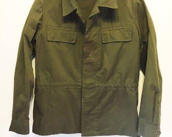 Vintage   Zekon Michalovce Green Men's Slovakian Army Jacket