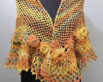 Handmade Triangle Shawl scarf