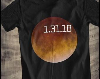 Lunar Eclipse 2018 T-Shirt