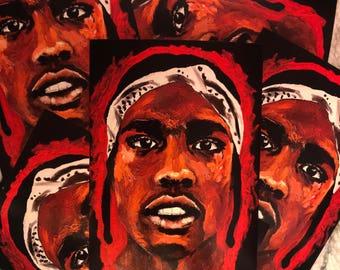 ASAP Rocky Print