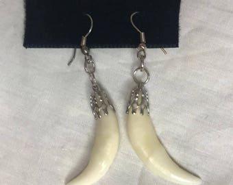 Coyote Teeth Earrings