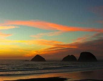 Oceanside Sunset -  Photography Print