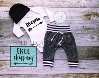 baby boy coming home outfit, baby boy, newborn boy outfit, new to the crew baby boy outfits, baby boy hat