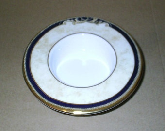 Wedgwood Cornucopia Pillar Candle Holder