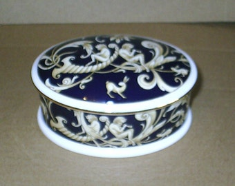 Wedgwood Cornucopia Oval Box