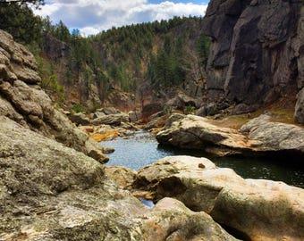 Hippie Hole in the Black Hills of South Dakota