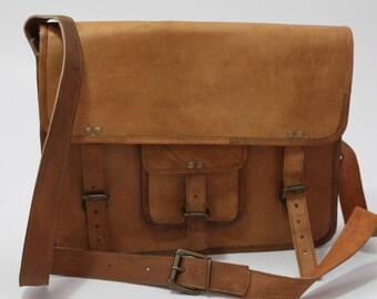 Genuine Leather Handmade Satchel
