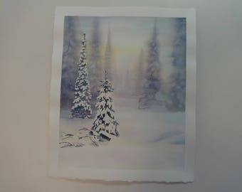 Snow (16 X 13 inches image size)