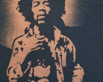 Jimi Hendrix Bleach Tee