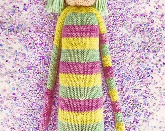 LUPIN Knitted Doll