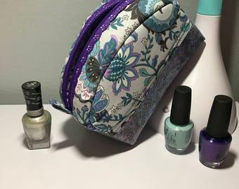 Cosmetic Bag, Capri Bag, Jewlery Bag