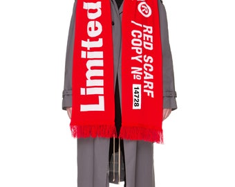 Limited Edition© RED SCARF