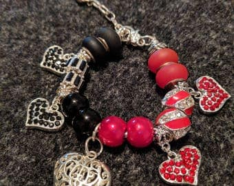 Queen of Hearts Inspired Bracelet