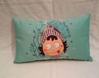 Blue Knight cushion