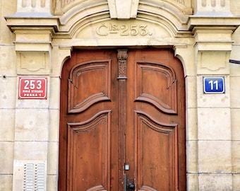 Old Czech Doorway