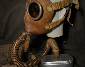 Belgian Gas Mask SACIC M1934 WW2