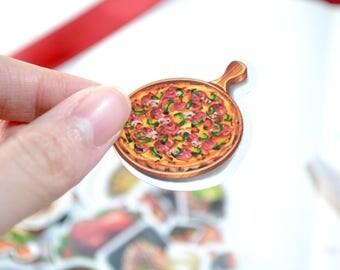 28pc Yummy Food Stickers  , Scrapbook Supplies
