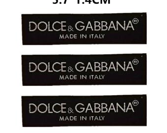 luxury collar labels,labels for clothing,collar labels,black labels,labels patches,DG labels,dolce labels,Gabbana labels