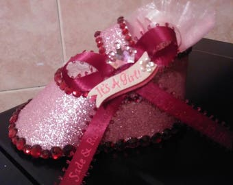It's a Girl Baby Shower Shoe Favors
