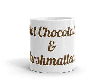 Hot Chocolate & Marshmallows Mug  Made in the USA