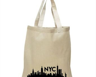 New York City - NYC - High Quality Heavy Canvas Tote Bag