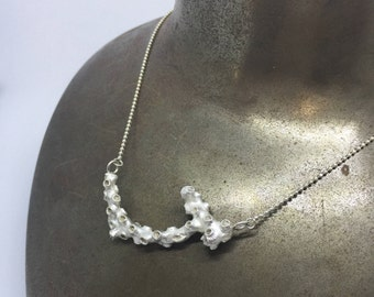 "Shore Series Necklace ""J"""