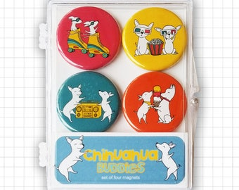 Chihuahua Buddies Magnet Set