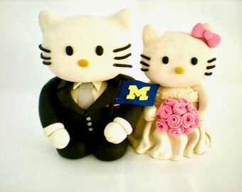 Hello Kitty Cake Topper Wedding