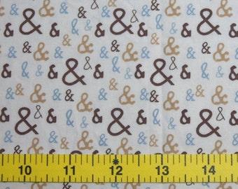 CUSTOM Reusable Cloth Menstrual Pad - You Pick Backing - Ampersands