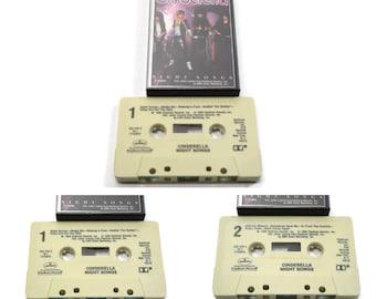 80's cinderella - night songs | cassette tape