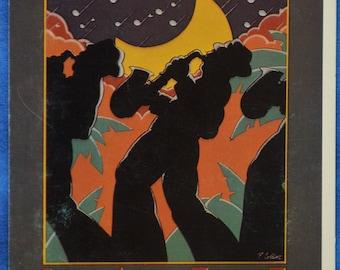 Jazz Heritage Festival 1980 New Orleans LA Louisiana Standard Postcard