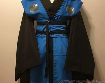 Sub-Zero Kimono Dress