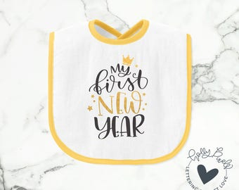Baby New Year SVG | My First New Year | New Year SVG | Holidays SVG | Holiday svg | Holiday Cricut svg | New Years Shirt File | Quote svg