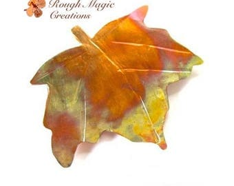 Autumn Leaf Brooch Copper Maple Leaf Rustic Metal Pin Woodland Jewelry Fall Colors Wearable Art Artisan Metalwork Anniversary Gift for Woman