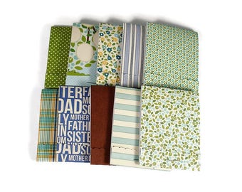 Set of 20 Matchbook Notepads Mini Note Pads in Family Ties