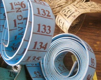 Vintage Tape Measures, Sewing Notions, Measuring Tape, Sewing & Dressmaking, Vintage Tool, Measuring Tape, Notions, Measuring Ribbon, Craft