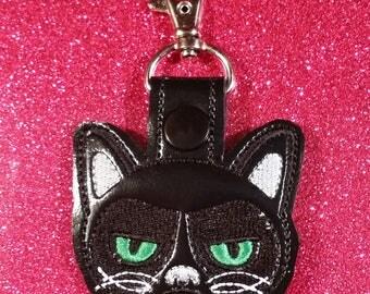 Attitude Kitty Key Fob