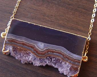SALE Stalactite Gold Necklace OOAK