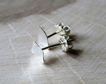 Snippets - mini sterling post earrings - ready to ship
