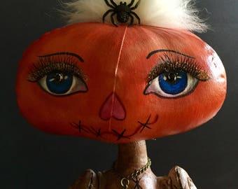 Moll the Pumpkin Head