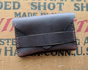 Horween Chromexcel Leather Business Card Wallet